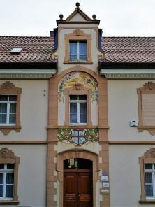 Hübsche Fassade an der Alten Holzer Straße in Leichlingen