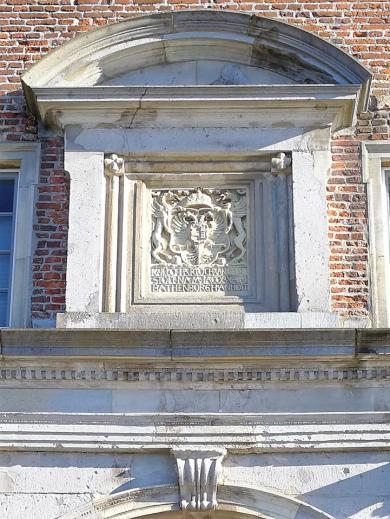 Wappen über dem Burgtor