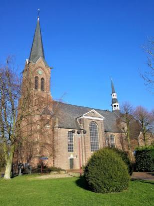 Die Wallfahrtskirche St. Mariä Himmelfahrt in Marienbaum