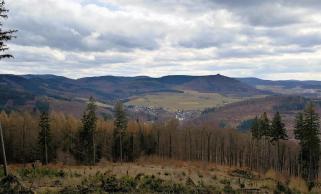 Blick vom Judenberg Richung Süden
