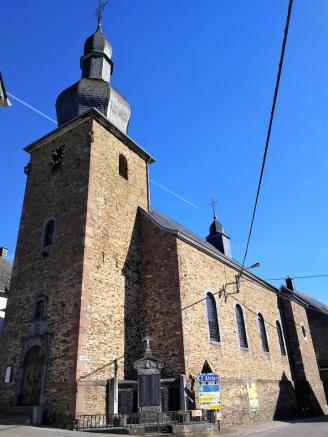 Die Dorfkirche von Burg-Reuland