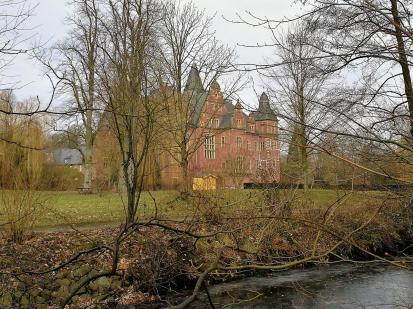 Blick auf Schloss Krickenbeck