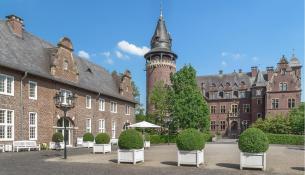Innenhof von Schloss Krickenbeck (Foto Mino1997 | http://commons.wikimedia.org | Creative-Commons-Lizenz)