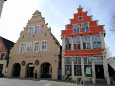 Professoren-Häuser am Markt von Burgsteinfurt