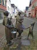 Figurengruppe in der Altstadt