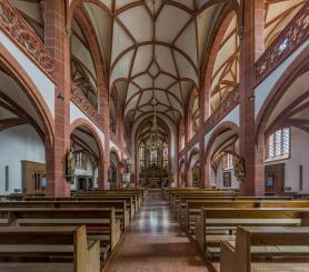 Der Innenraum (Foto DXR | http://commons.wikimedia.org | Lizenz: CC BY-SA 3.0 DE)