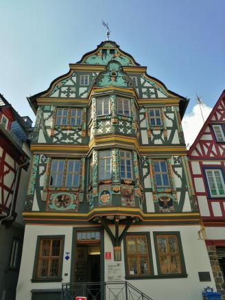 Das reich verzierte Killingerhaus von 1615