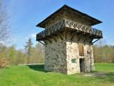 Der rekonstruierte Limes-Turm