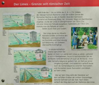 Im Laufe mehrer Jahrunundete wurde die Grenzsicherung am Limes immer weiter verfeinert