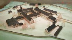 Modell des Klosters im Klostermuseum