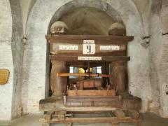 Weinkelter aus dem Jahr 1794 im Kloster