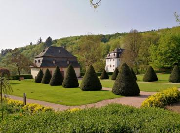 Klostergarten neben der Basilika