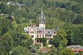 Villa Andreae von der Burg aus gesehen (Foto Karsten11   http://commons.wikimedia.org   Lizenz: CC BY-SA 3.0 DE)