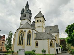 Die Pfarrkirche St. Martin in Oberlahnstein
