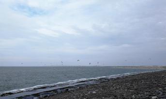 Kiter am Brouwersdam