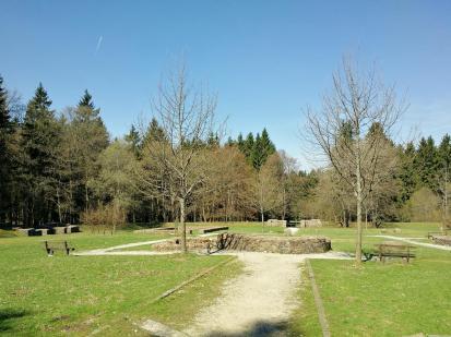 Das Gelände des früheren Römer-Kastells