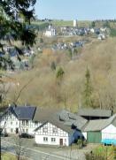 Blick nach Reifferscheid und zur Burg Reifferscheid