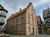 Einer der wenigen Steinbauten in der Altstadt
