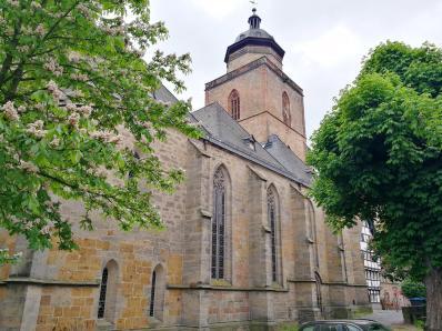 Die Walpurgiskirche aus der zweiten Hälfte des 13. Jahrhunderts