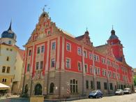 Das Alte Rathaus, Ansicht aus Richtung des Marktplatzes