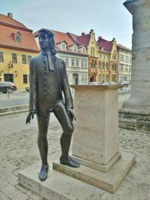 Bach-Denkmal vor der Doivi-Blasis-Krche
