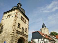 Blick aus der Altstadt auf das Frauentor