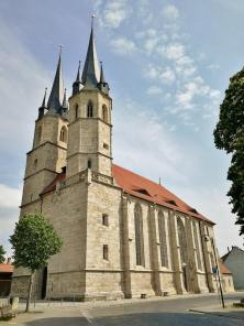 Jakobikirche,Sitz der Stadtbibliothek