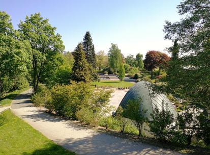 Blick in den Kurgarten
