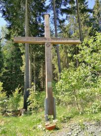 Das Halbstundenkreuz von 1639 am Rothaarsteig