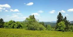 Landschaft oben auf dem Kahlen Asten