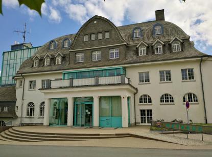 Das schmucke Rathaus von Winterberg