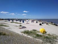 Strand von Harlesiel