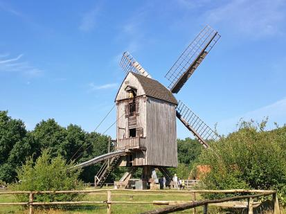 Bockwindmühle aus Essern (Landkreis Nienburg), ca. 1638 errichtet