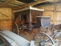 Historischer Bestattungswagen