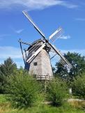 Kappenwindmühle aus Bokel (Landkreis Cloppenburg) aus dem Jahr 1764