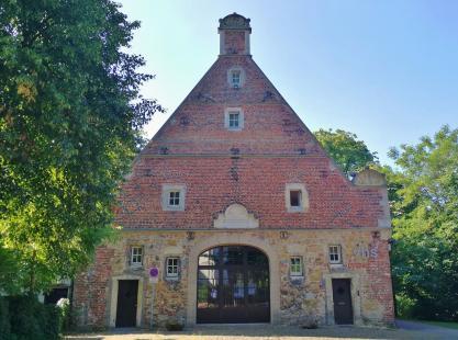 Das ehemalige Gerichtshaus in der Vorburg