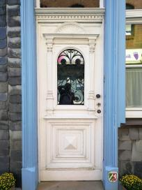 Schöne Haustür