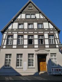 Historische Fassade an einem Stadthaus