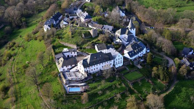 Lufbildaufnahme der Siedlung Kronenburg (Foto Wolkenkratzer | http://commons.wikimedia.org | Lizenz: CC BY-SA 3.0 DE)