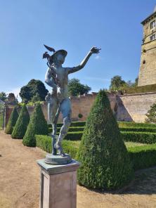 Skulptur im Schlossgarten