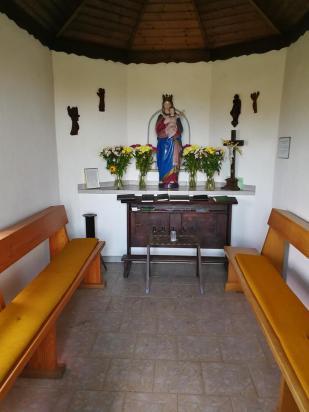 Innernraum der Röder-Kapelle