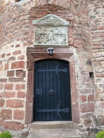Portal am Bergfried