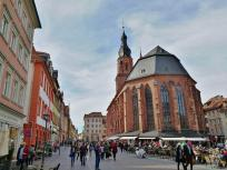 Rückseite der Heiliggeistkirche am Alten Markt