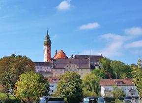 """Das Kloster Andechs auf dem """"heiligen Berg"""" der Bayern"""