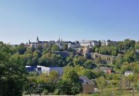 Blick vom Kirchberg auf die Oberstadt