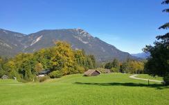 Blick zum Kramerspitz nördlich von Grainau