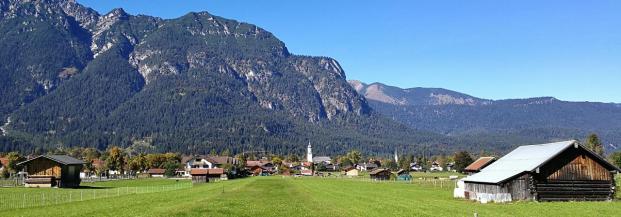 Wir lassen Garmisch hinter uns