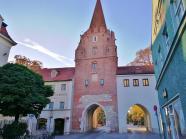 Das Kreuztor, letztes erhaltene Stadttor