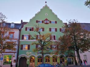 Hotel in einem alten Bürgerhaus am Franziskanerplatz