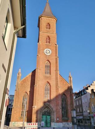 Die efangelische Matthäus-Kirche